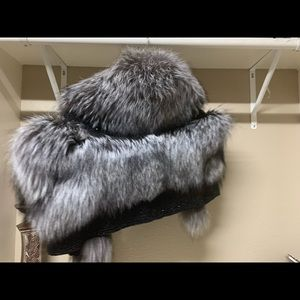 Zhondra Rhodes beaded  fur (authentic)